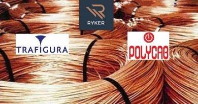Polycab Trafigura Ryker Copper rods