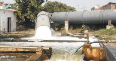 Water Treatment Plant Chandrawal DJB