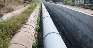 water pipelines