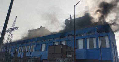 Fire at Anpara D 500 MW Power plant