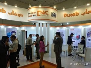 Ducab's stand at Cable & Wire 2019