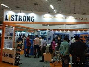 Listrong's stand at Cable & Wire 2019