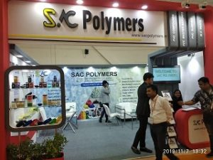 SAC Polymer's stand at Cable & Wire 2019