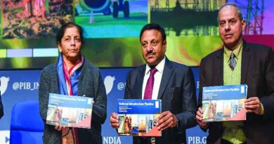 Finance Minister Nirmala Sitharaman releases the NIP Report