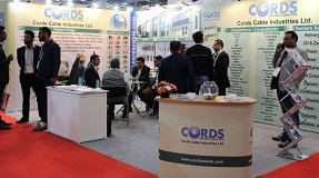 Cords Cable stand at Elecrama 2020
