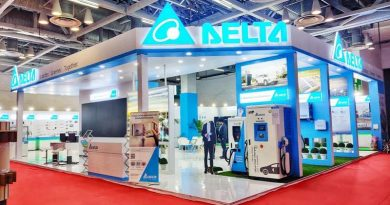 Delta Electronics stand at Elecrama 2020