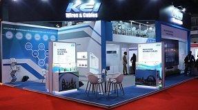 KEI's stand at Elecrama 2020