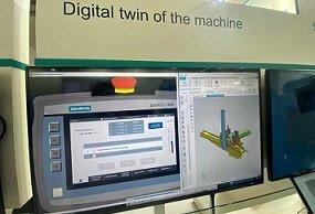 Siemens Digital Twin of Machine at Elecrama 2020