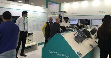 Siemens Stand at Elecrama 2020