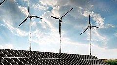 Solar-Wind Hybrid Energy Park