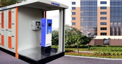 C&S Electric's Prepackaged Substation with EV Charging