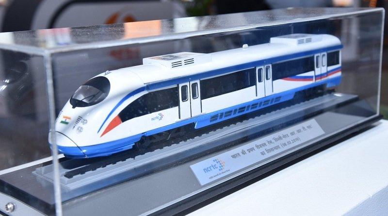 NCRTC Delhi Meerut RRTS Rapid Rail model