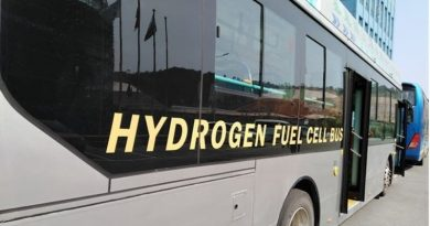 FCEV Hydrogen fuel cell bus