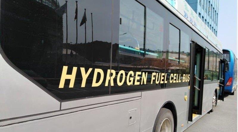 FCEV Hydrogen fuel cell bus