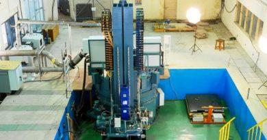 BHEL Turbine Rotor Test RIG