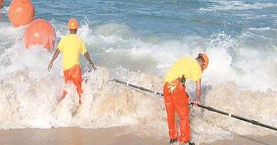 Submarine Cable-laying