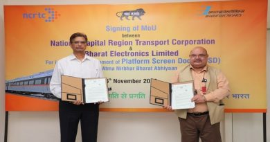 MoU signing ceremony between BEL and NCRTC