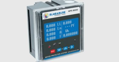 Elmeasure Motor Protection System, MPS 8000