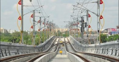 Metro rail line track signalling
