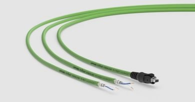 Lapp's ETHERLINE T1 Single Pair Shielded Cables