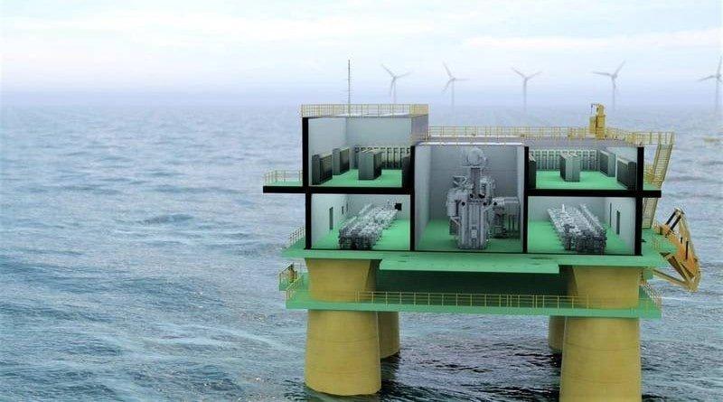 Hitachi ABB Offshore Transformer